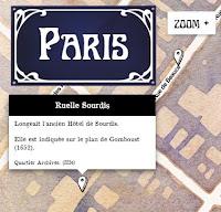 Carte Histoire des noms de rues