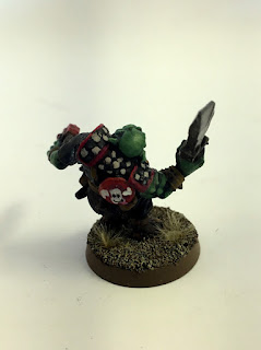 2nd Edition Orks - Goff Madboy - Back