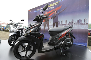 Yamaha Mio Z terbaru 2016 hitam