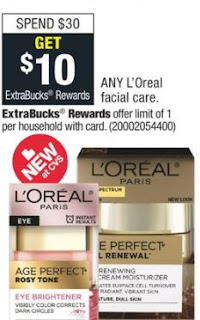 loreal facial CVS deal 5-12-5-18