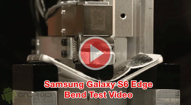 Samsung Galaxy S6 Edge Bend Test Video vs Apple iPhone 6