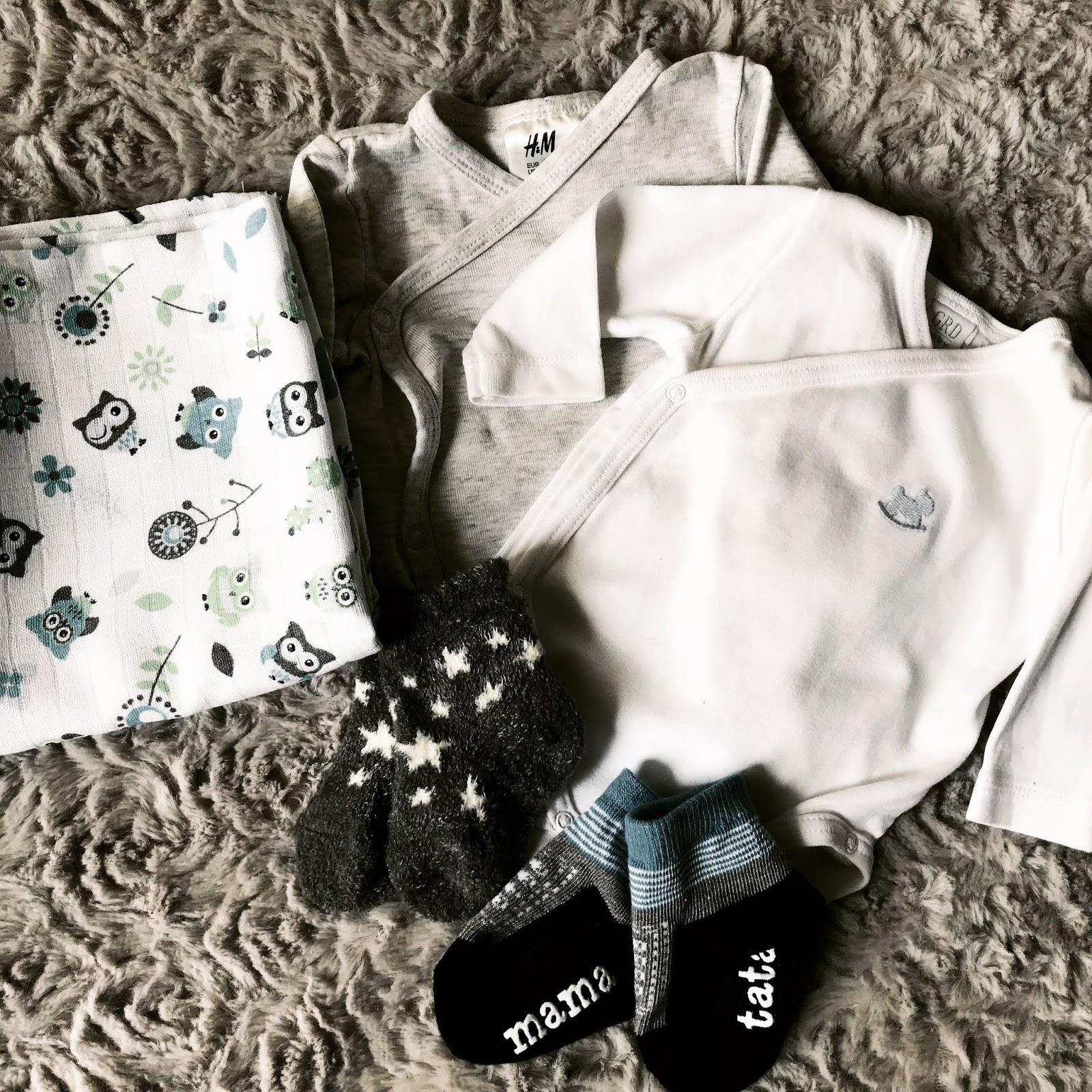 ubranka, wyprawka, noworodek