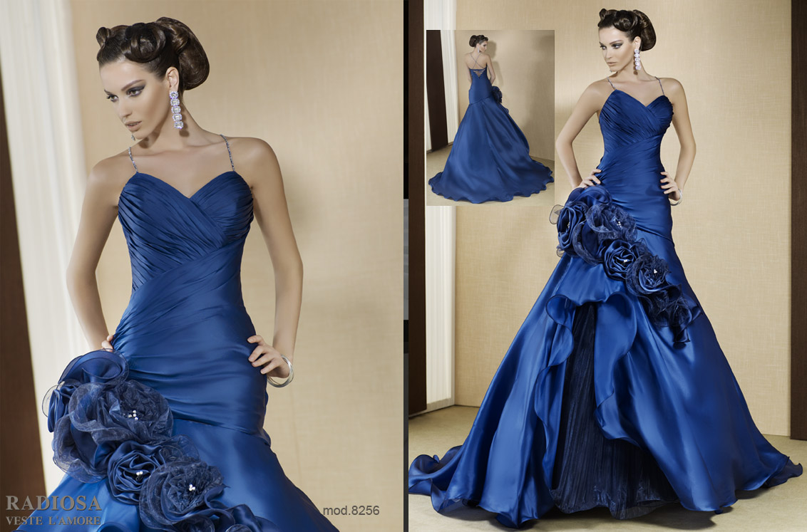 Blue Wedding Gowns: Dream Wedding And Event Planners: Colored Wedding Gowns