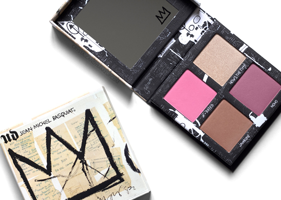 UD Jean-Michel Basquiat Collection Urban Decay Gallery Blush Palette Review