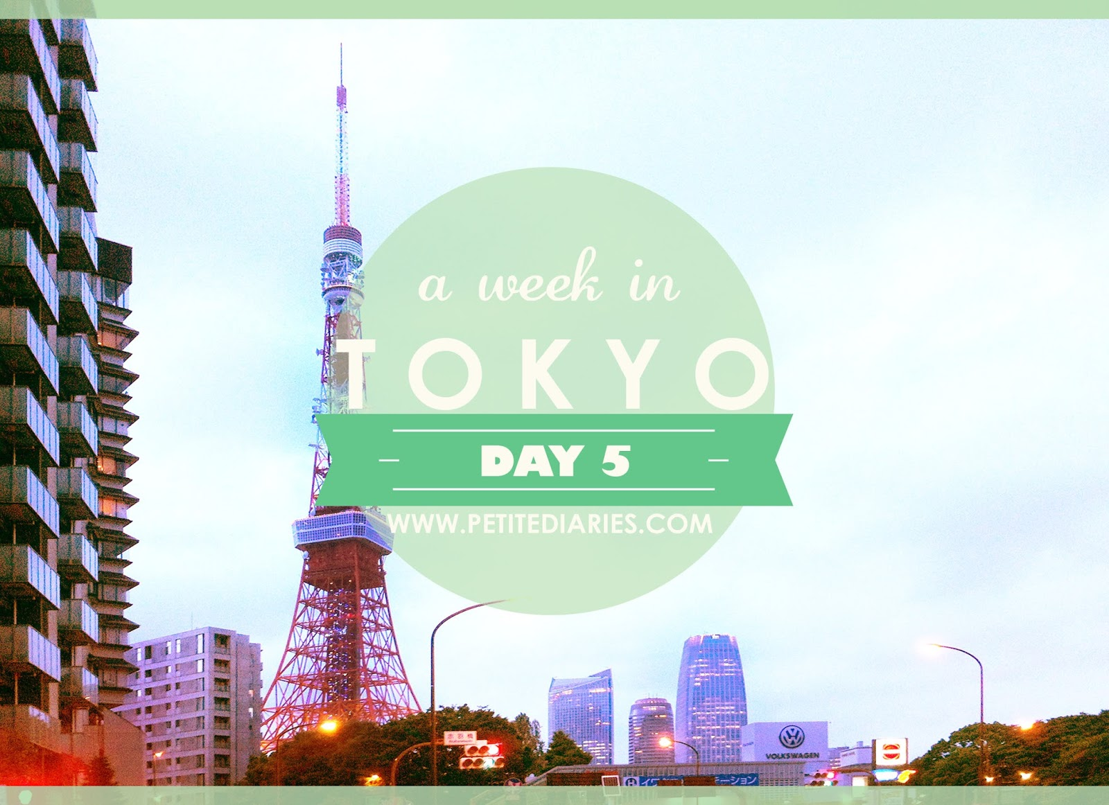 travel in tokyo ginza roponggi tokyo tower