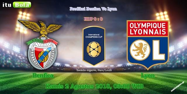 Prediksi Benfica Vs Lyon - ituBola