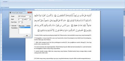 Free Download Qur'an In Word 2007