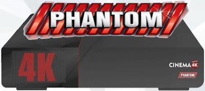 Phantom Cinema 4K Android,H265,ACM Segue as especificações do novo lançamento – 23/03/2017