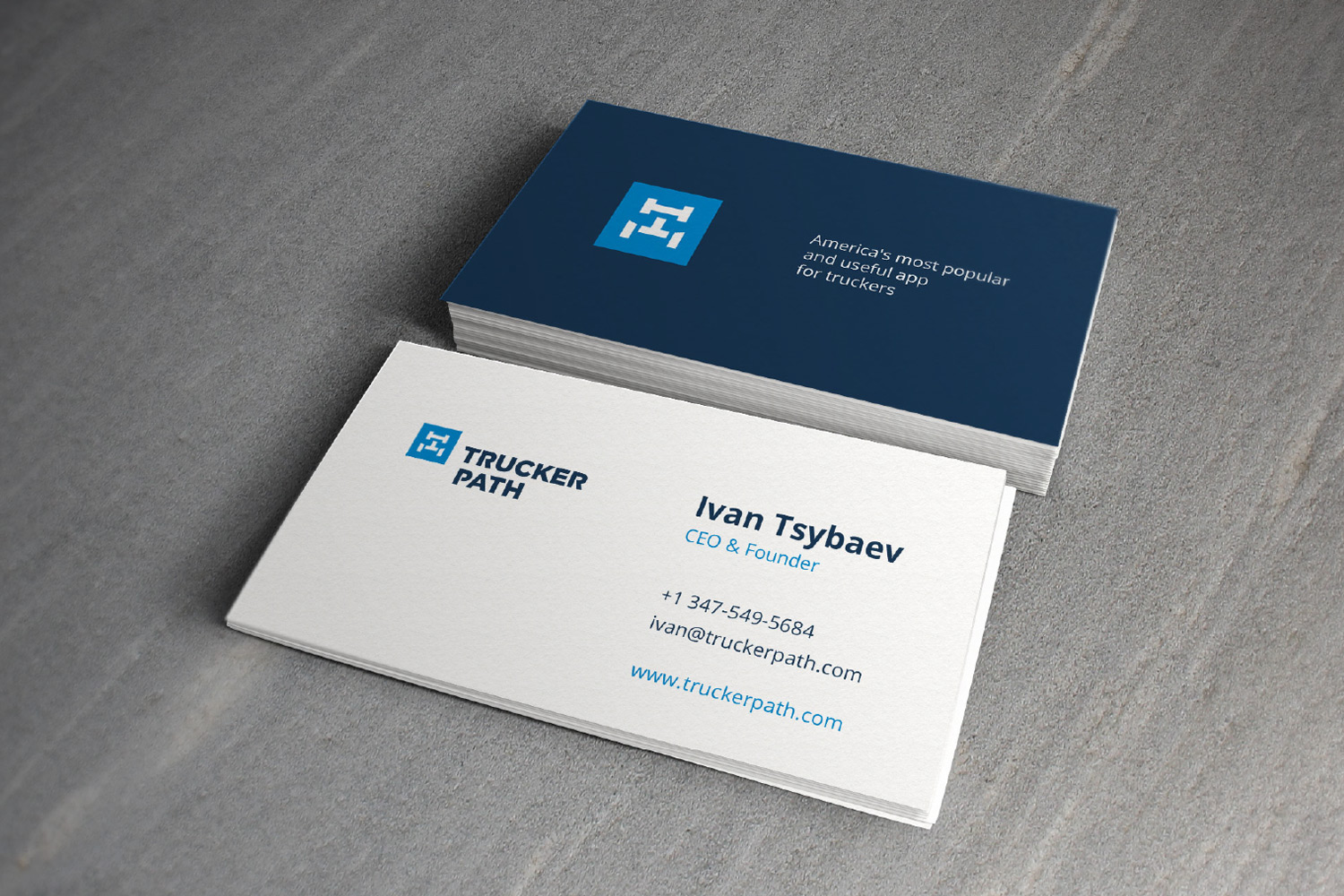 Business Cards For Truckers - Business Card Tips