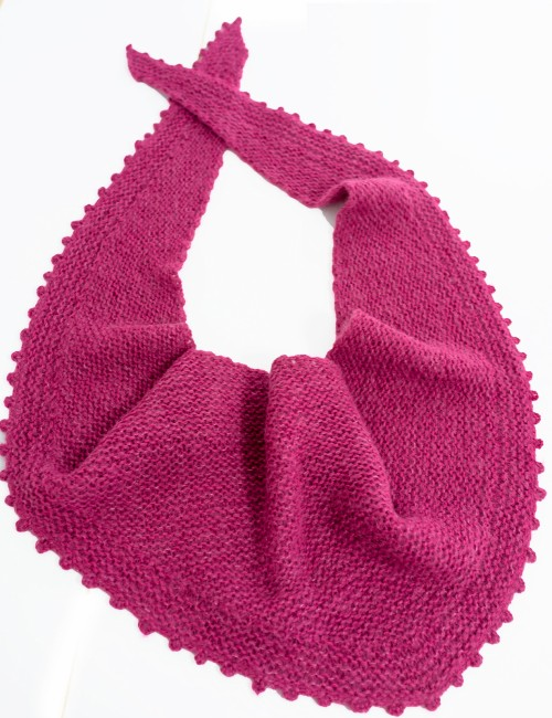 Bobo Shawl - Free Knitting Pattern