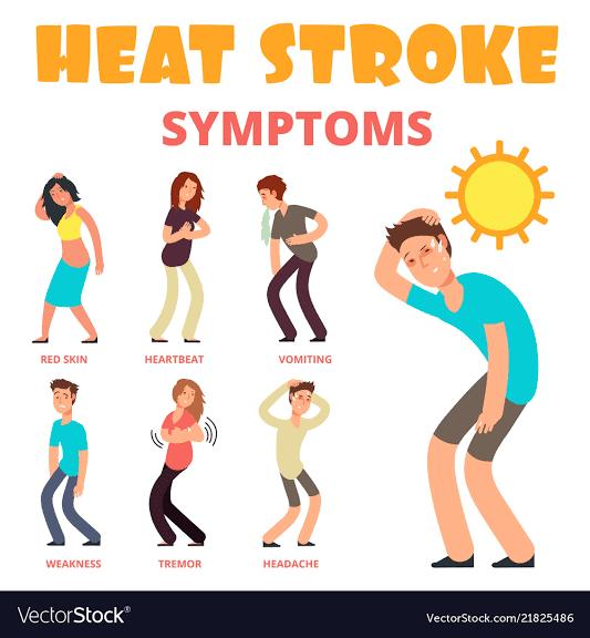 हीट स्ट्रोक के लक्षण व बचाव मौसम विभाग की चेतावनी को लेकर संजीव सिंह डीएम फतेहपुर में जारी किया हाईएलर्ट