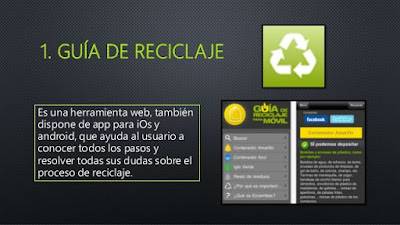 App guía reciclaje