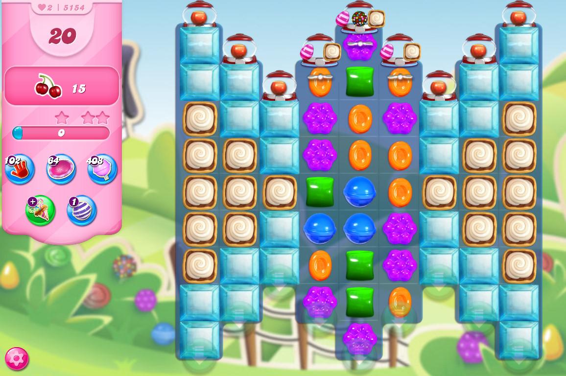 Candy Crush Saga level 5154