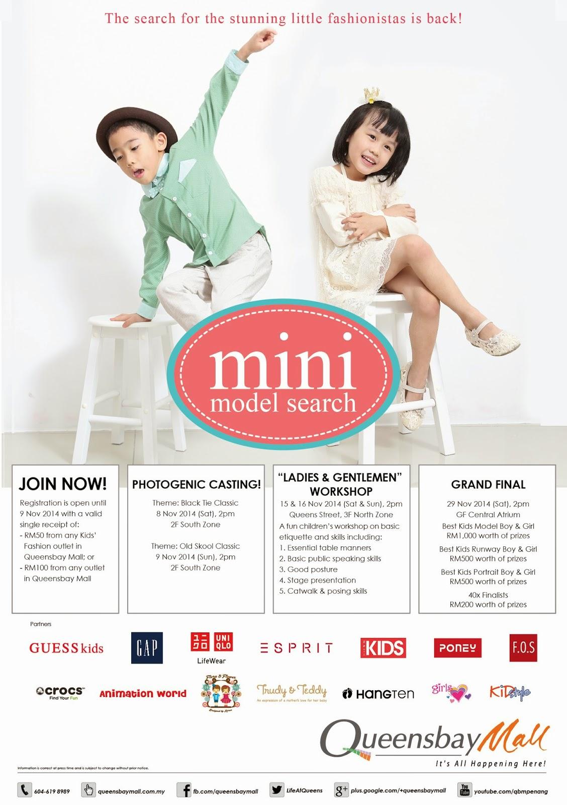 MINI MODEL SEARCH 2014: PHOTOGENIC CASTING | Malaysian Foodie