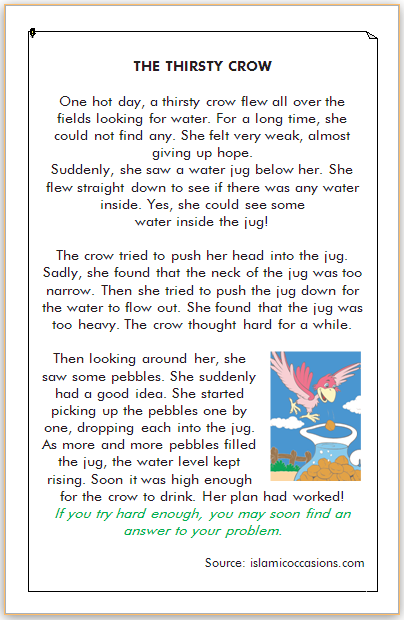 cerita dongeng burung gagak