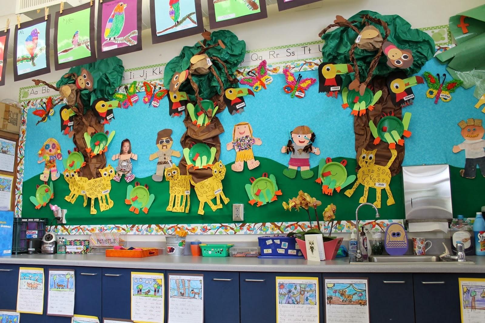 Blog Hoppin Rainforest Fun For Open House
