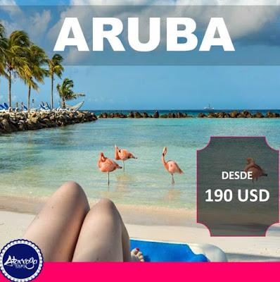 Vuelo  Aruba desde 190 USD