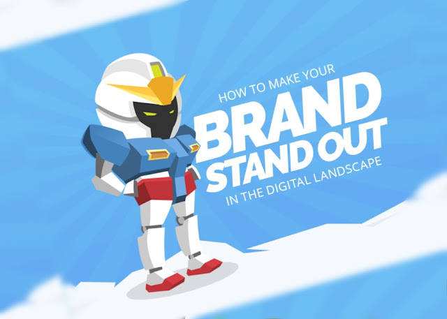 How To Make Your Brand Stand Out In The Digital Landscape - #infographic