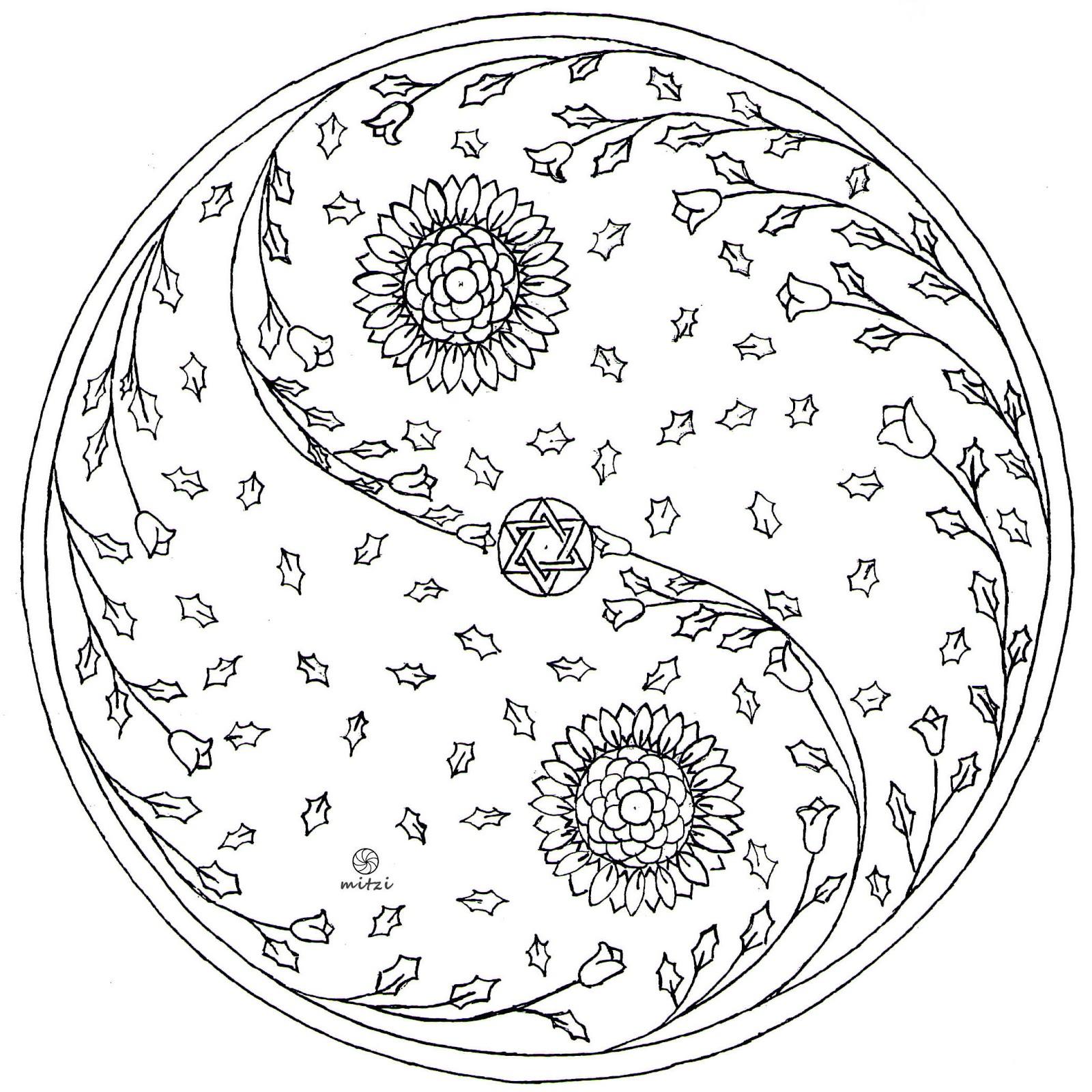 ying yang yo coloring pages - photo#20