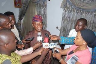 Ileri oluwa media Team congratulates the chief of staff to the governor of the state of osun chief Ishaq Adegboyega OYETOLA