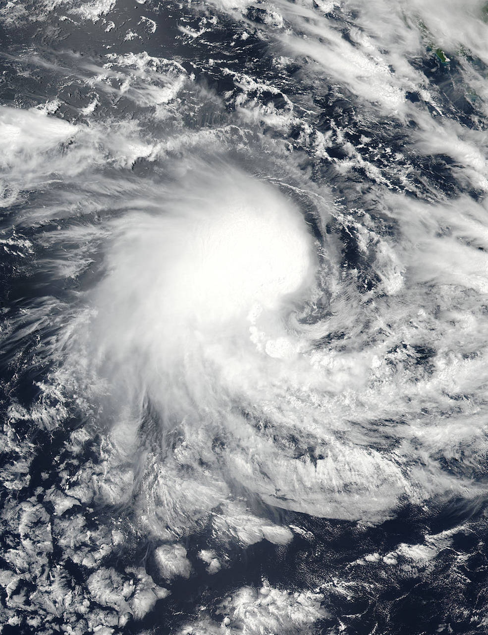 the big wobble new formation tropical cyclone caleb