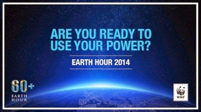 Earth hour, international earth hour, earth hour 2014