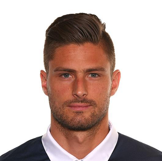 Olivier Giroud Haircut Hairstyle 2017