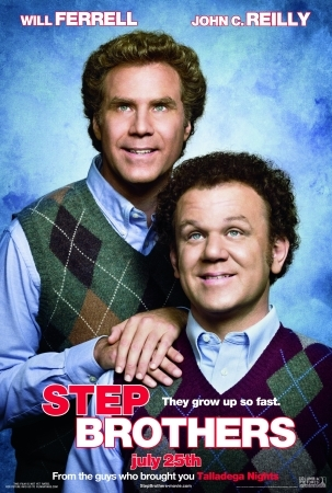 Poster Of Step Brothers 2008 UnRated 720p Hindi BRRip Dual Audio Full Movie Download