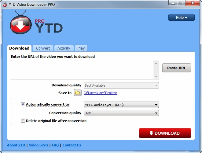 Achmad Reza Fadillah: youtube downloader