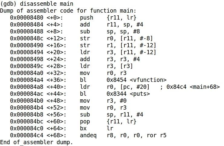 buffer overflow detected gdb manual