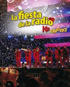 Poster del concierto de la Ke Buena, la fiesta de la radio | Ximinia