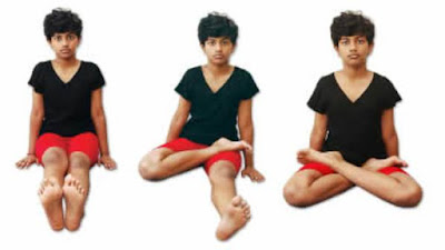 padmasana - step by step