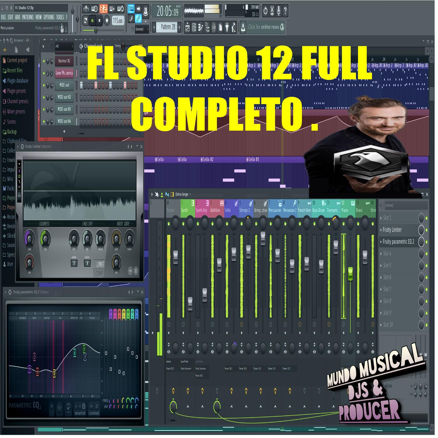 descargar fl studio 12 full crack mega