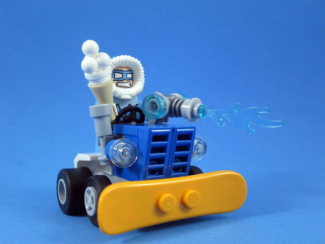 Set LEGO 76063 Migthy Micros: The Flash vs. Captain Cold