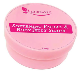 NURRAYSA SOFTENING FACIAL & BODY JELLY SCRUB