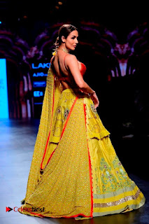 Bollywood Actress Malaika Arora Khan Walks on Ramp at LFW Summer 2017  0018.jpg
