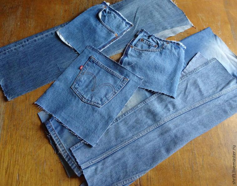 Flap Bag of Old Jeans Tutorial. ~ DIY Tutorial Ideas! e0373531902e4