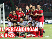Jadwal Timnas Indonesia U-23 di Grup A Asian Games 2018