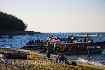 Bot ke Pulau Ru Besut