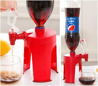 dispenser untuk minuman cola