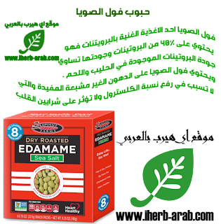 حبوب فول الصويا المجففة مع ملح البحر من اي هيرب Seapoint Farms, Dry Roasted Edamame, Sea Salt, 8 Snack Packs, 0.79 oz (22.5 g) Each