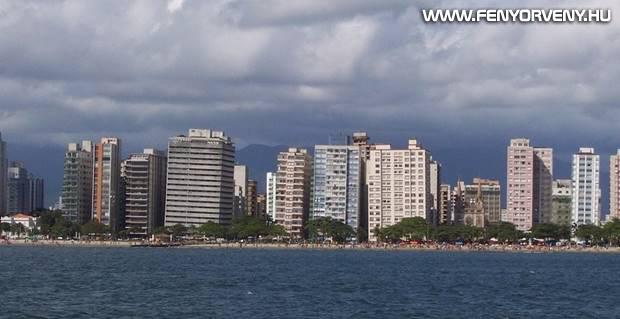 Santos, a ferde tornyok városa, Brazília