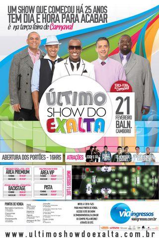 DVD Exaltasamba – Ultimo Show Ao Vivo no Multishow (2012)