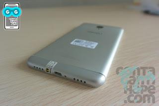 Meizu 3 Note - sisi bawah belakang