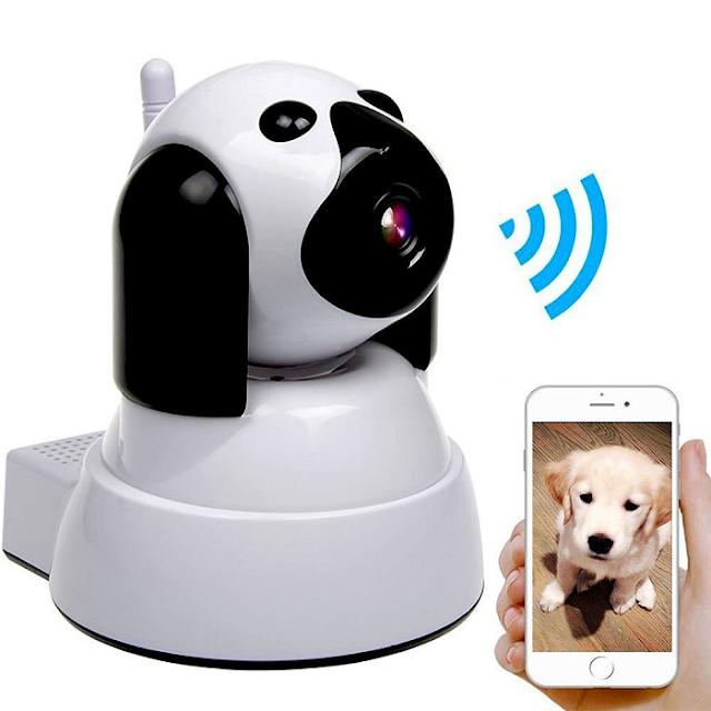 Camera WiFi WinTech WTC-IP305 (trắng) Độ phân giải 1.0MP  Giá bán lẻ chính hãng: 1,250,000đ