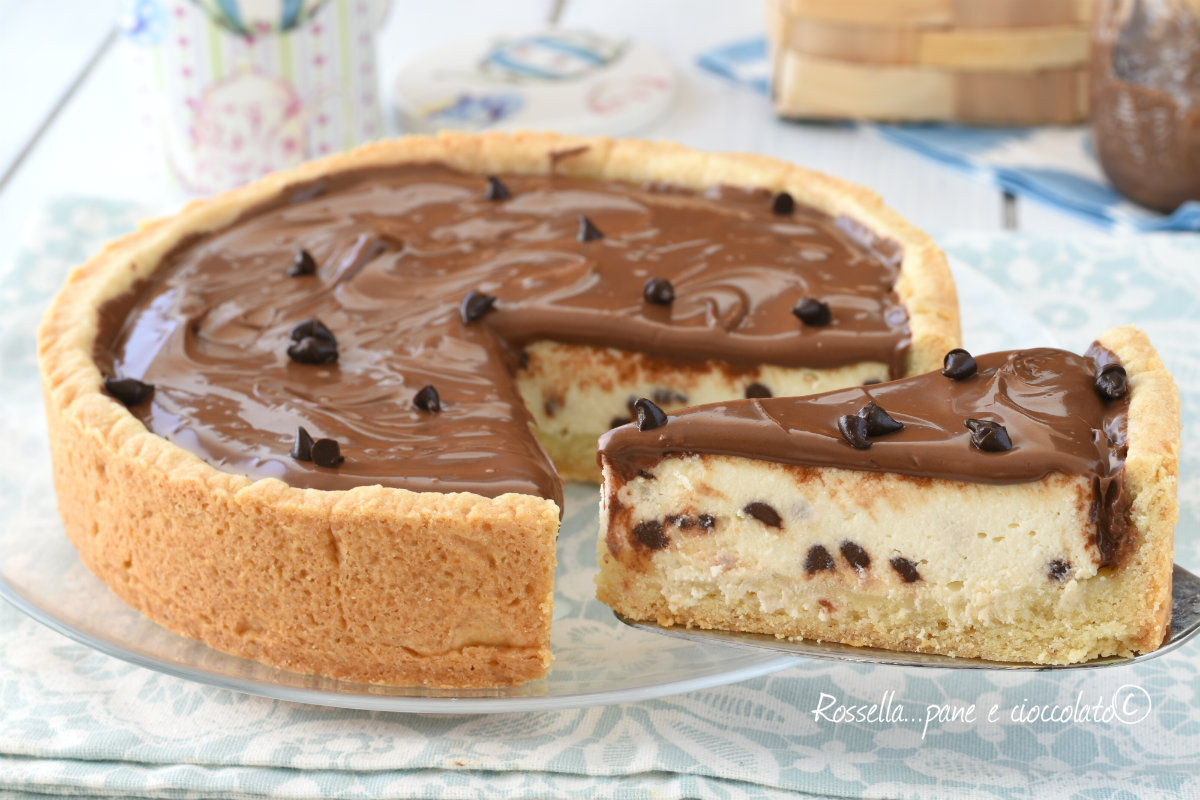 Ricette bimby torta ricotta e nutella