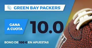 Paston Megacuota Promoción NFL: Packers vs Bears 29 septiembre