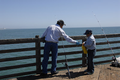 father and son fishing: LadyD Books