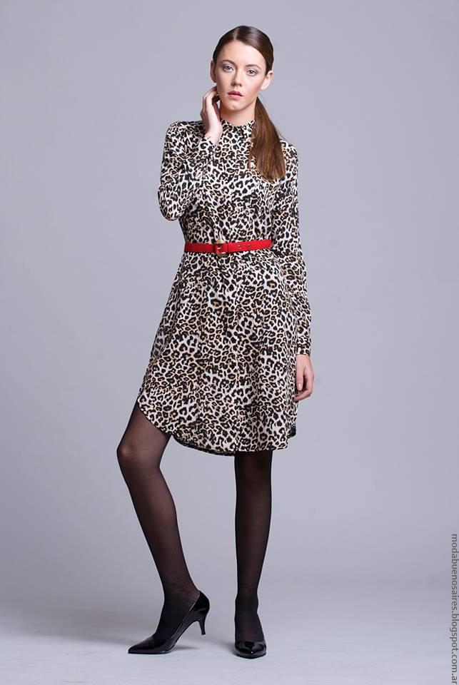 Moda invierno 2016 ropa de moda Dominga Dominó.