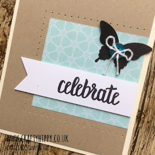 How to create an Old Meets New card by Stampin' Up!